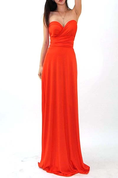 MULTI WAY MAXI DRESS - orangeshine.com