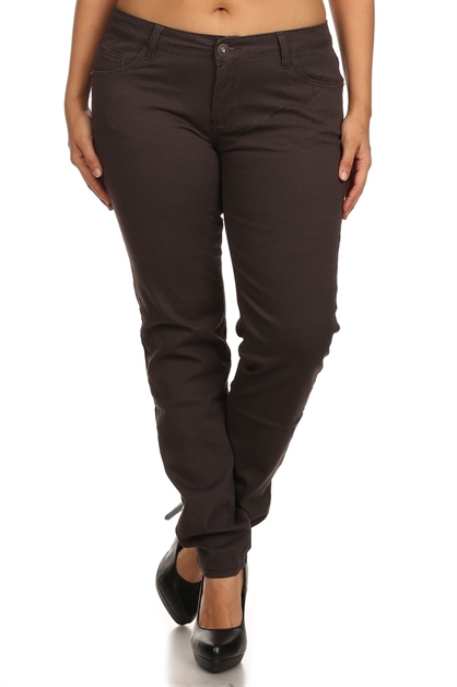 Cotton Jeans NSPB-107-Black - orangeshine.com