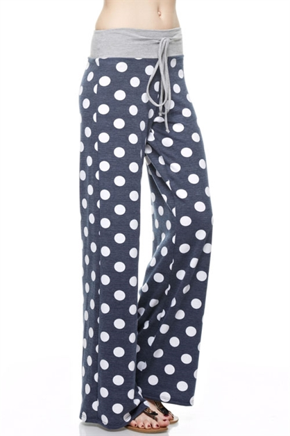Polka Dot Pants - orangeshine.com