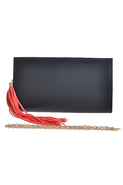 TWO-COLOR CLUTCH PURSE - orangeshine.com