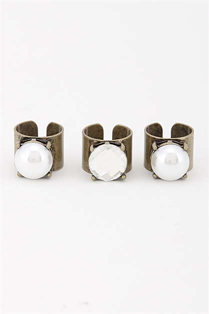 Three Ring Set  - orangeshine.com