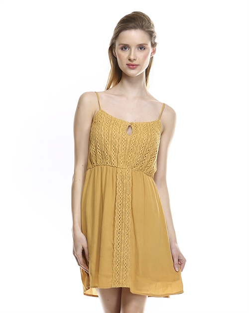 LACE CAMI DRESS - orangeshine.com
