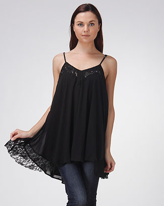LACED TANK DRESS - orangeshine.com