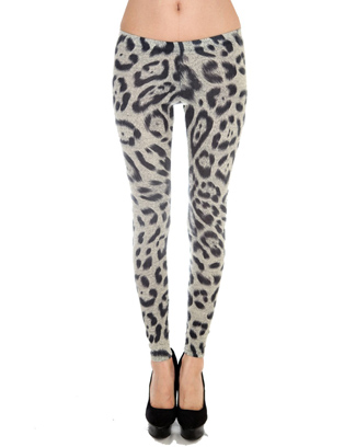 ANIMAL PRINTED LEGGINGS - orangeshine.com