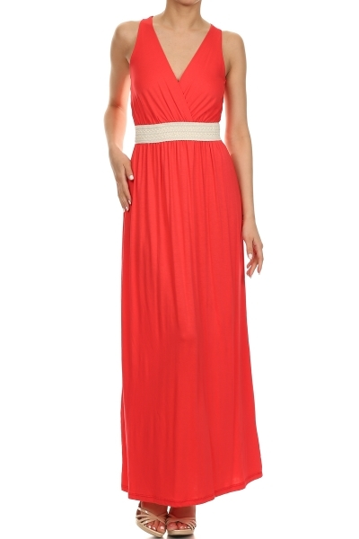 maxi crochet dress - orangeshine.com