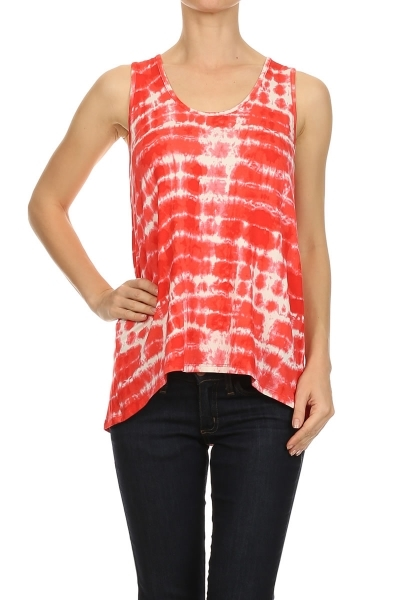 Tie dye top - orangeshine.com