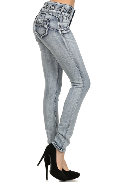 Women Denim Jeans JS-008 - orangeshine.com