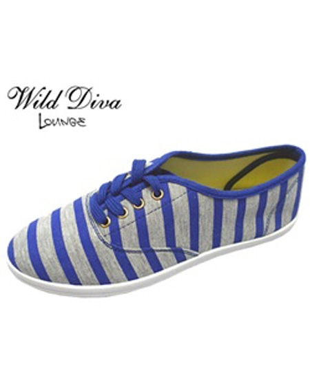 STRIPE CASUAL SNEAKERS - orangeshine.com