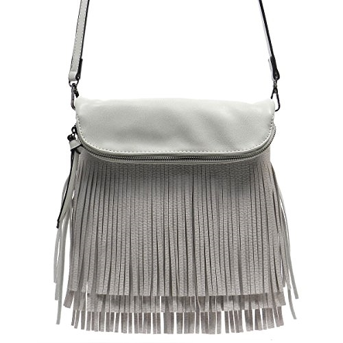 Fringe Tassel Cross Body Bag - orangeshine.com