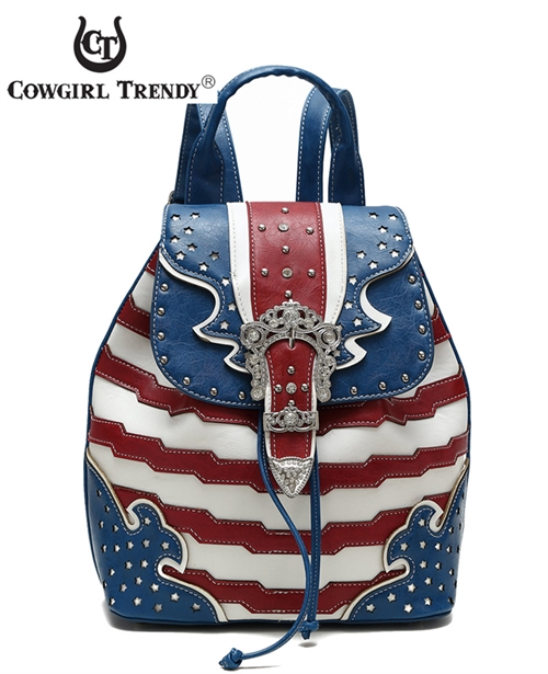 USA Flag Backpack - orangeshine.com