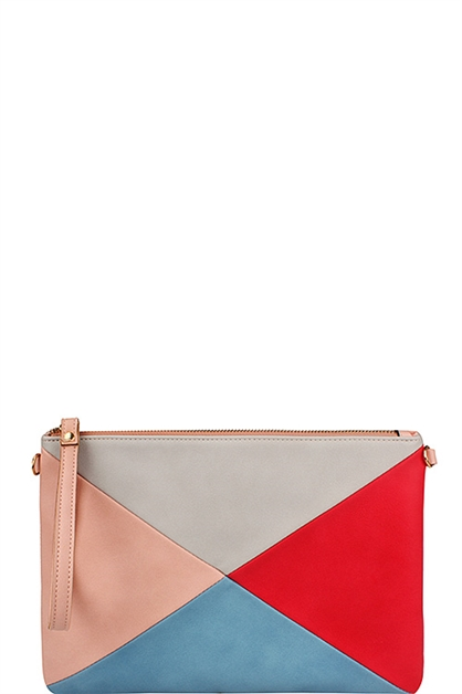 Clutch with Long strap  - orangeshine.com