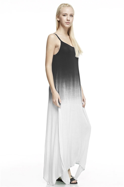 Dip Dyed Maxi Dress - orangeshine.com