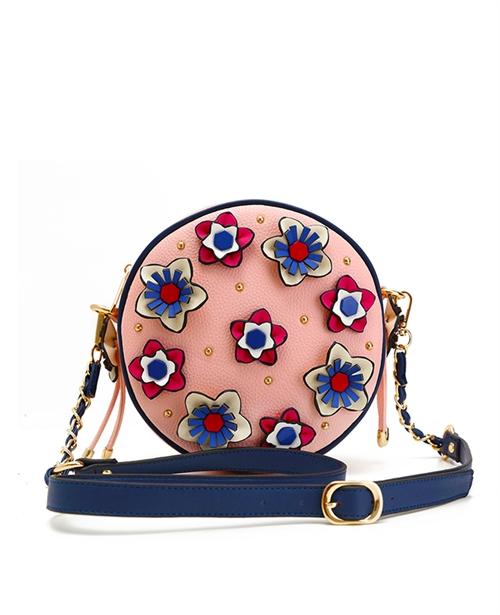 Flowers Cross body Bag - orangeshine.com