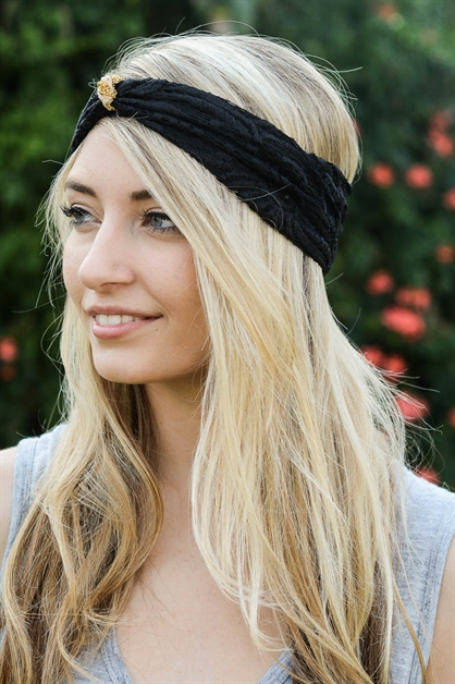 LACE HEADBAND - orangeshine.com