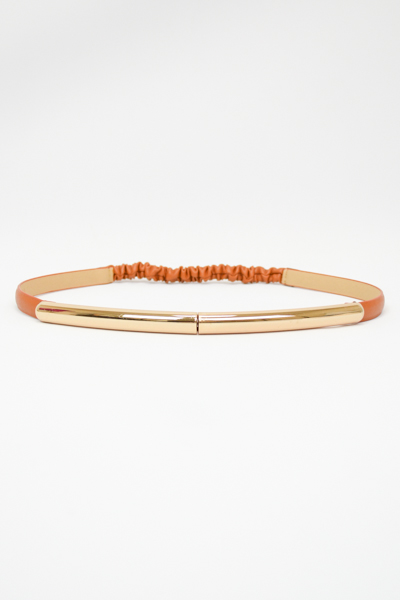 METAL BAR SKINNY BELT - orangeshine.com