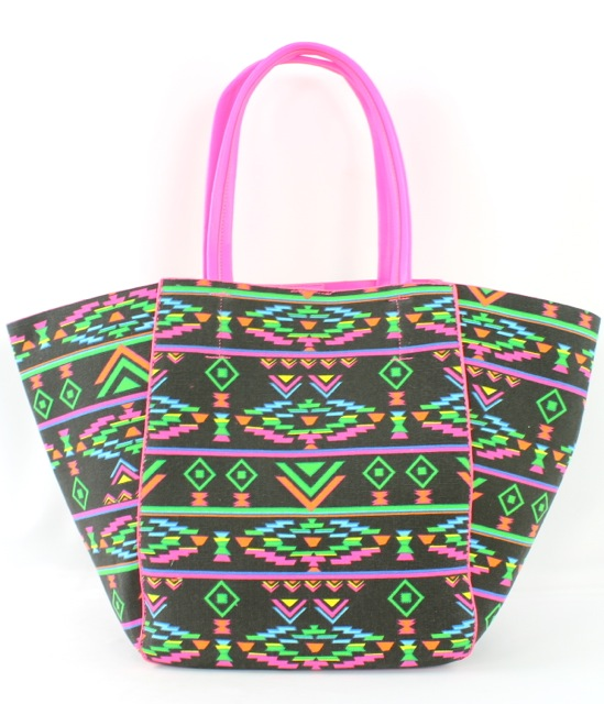NEON HANDLE AZTEC PATTERN - orangeshine.com