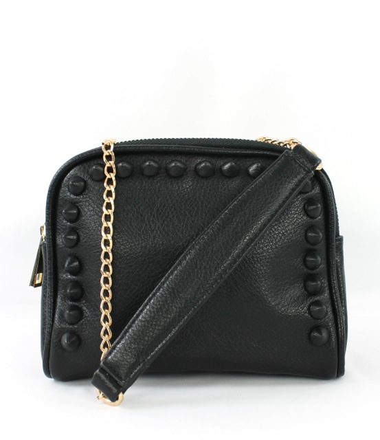 STUDDED CHAIN MESSENGER - orangeshine.com