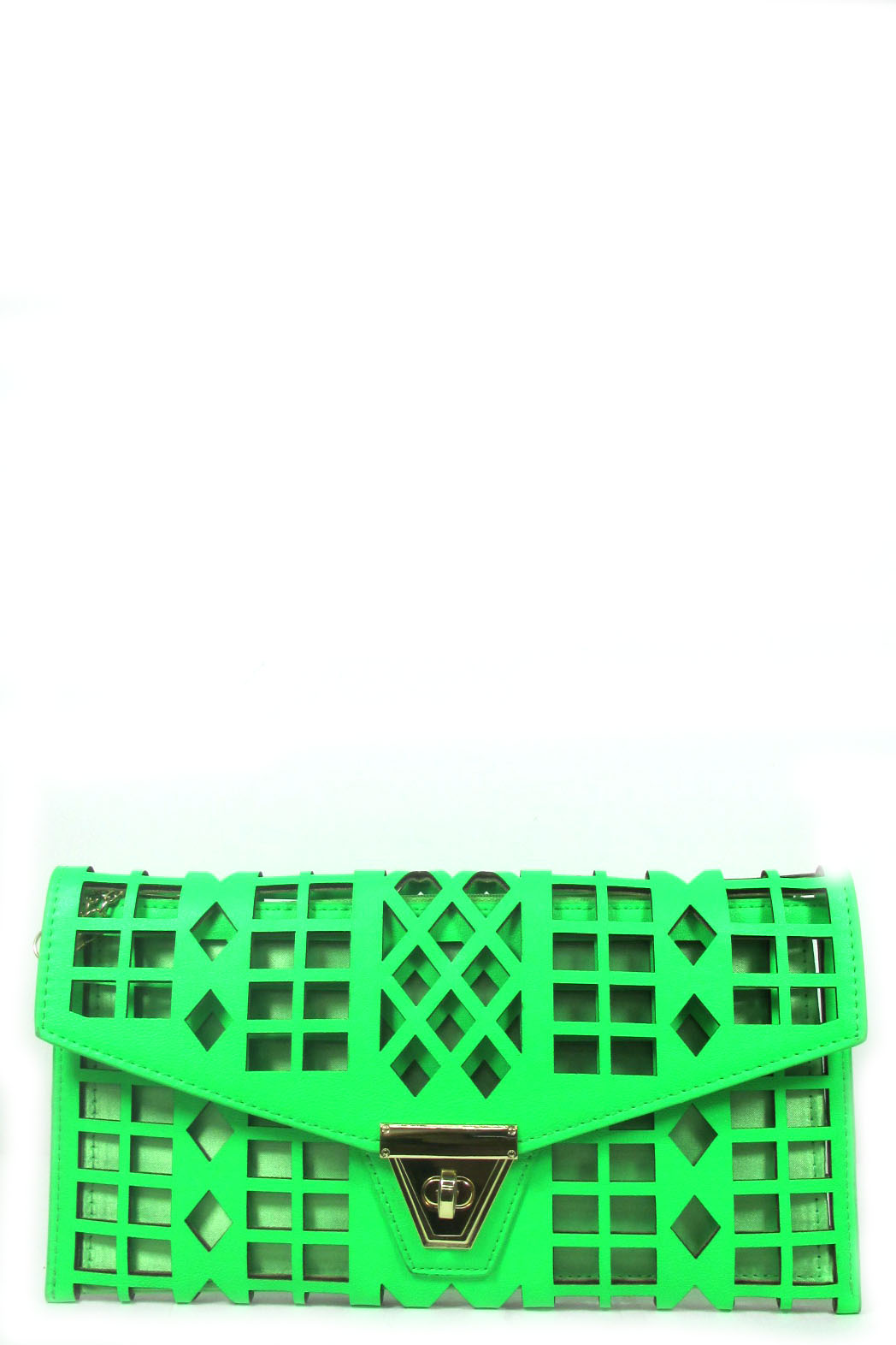 Laser cut clutch - orangeshine.com