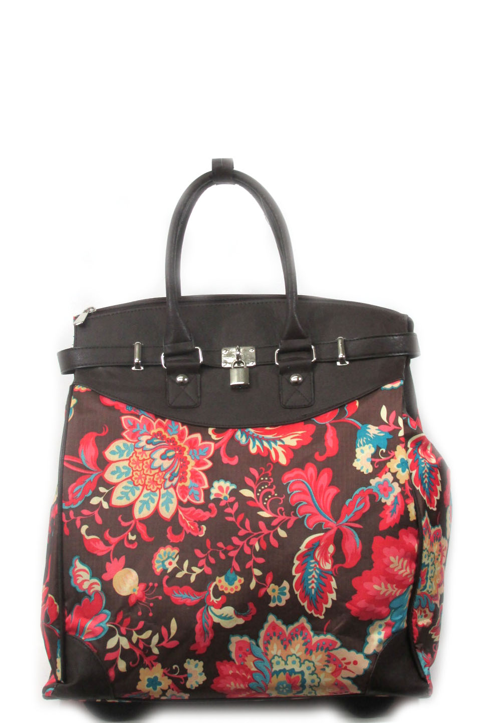 Garden bouquet print luggage - orangeshine.com