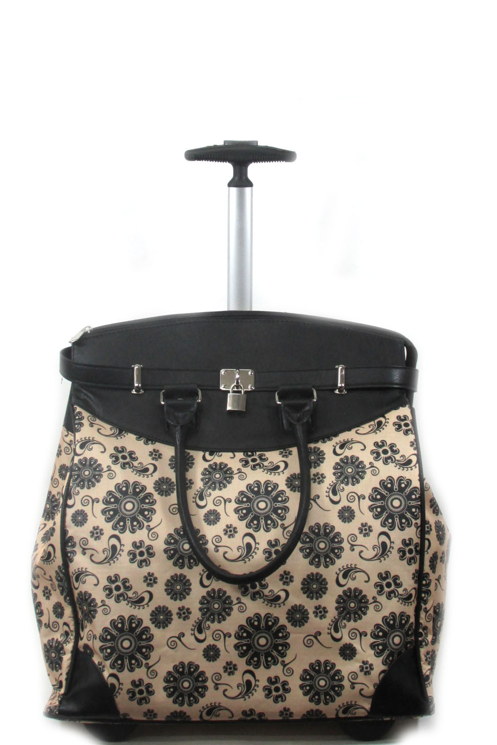 Paisley blossom luggage bag - orangeshine.com