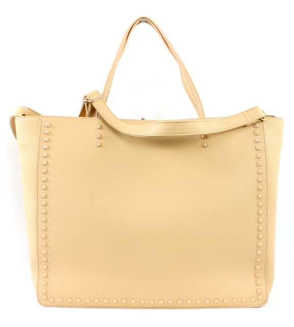 PYRAMID STUD TOTE BAG - orangeshine.com