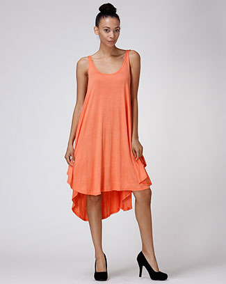 HI-LOW DRESS - orangeshine.com