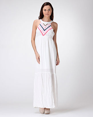DAYTIME GODDESS  MAXI DRESS - orangeshine.com