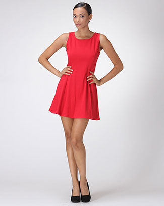 SLEEVE LESS DRESS - orangeshine.com