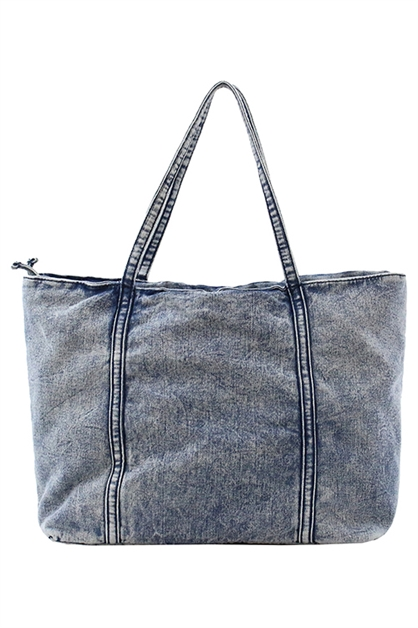 MARIA DENIM TOTE - orangeshine.com
