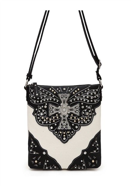 Western Cross Cross Body Bag - orangeshine.com