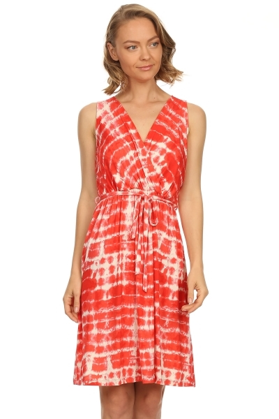 tie dye dress - orangeshine.com