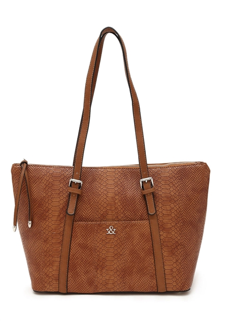 HUE AND ASH Shopper Tote - orangeshine.com
