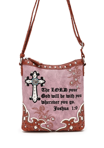 BIBLE VERSE MESSENGER  BAG - orangeshine.com