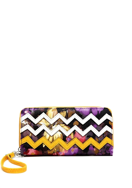 Zip Around Wallet Wristlet - orangeshine.com