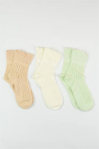 CUTE QUARTER SOCKS - orangeshine.com
