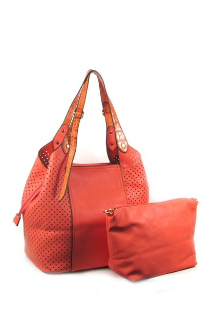 laser cut 2 in 1 tote - orangeshine.com