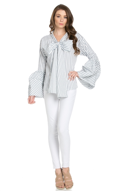 Spring Long Sleeve Blouse - orangeshine.com