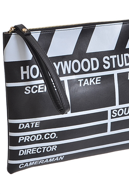 Hollywood Director Cut Clutch - orangeshine.com