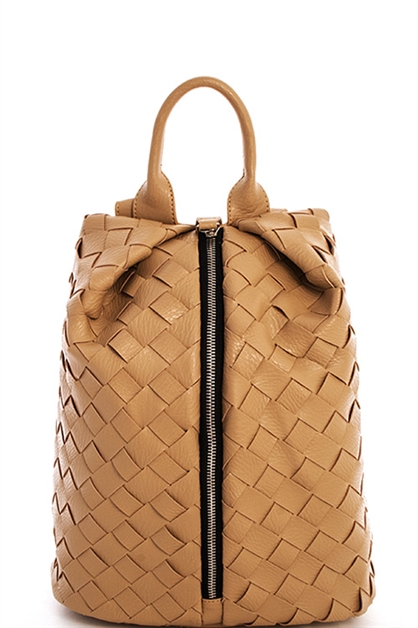 Designer Woven Cute Backpack - orangeshine.com