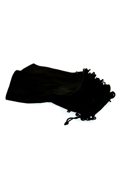 Classic Black Cloth Pouches - orangeshine.com