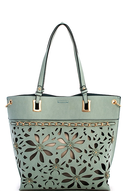 2in1 Designer Chained Tote - orangeshine.com