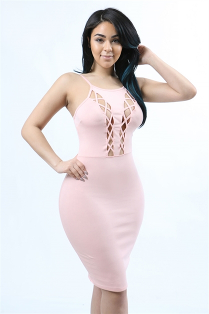 spaghetti strap dress - orangeshine.com