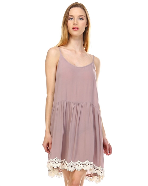 Babydoll cami dress - orangeshine.com