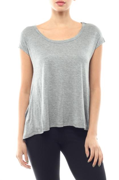 Twist Queen Basic Top - orangeshine.com
