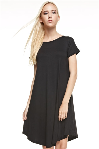 MID LENGTH HEM LINE DRESS - orangeshine.com