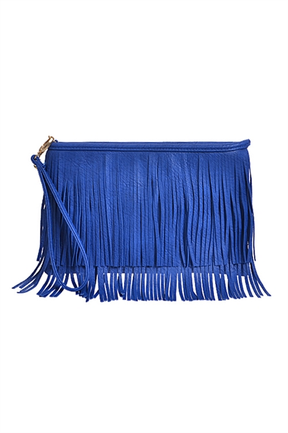 Fringed Must Have Clutch - orangeshine.com