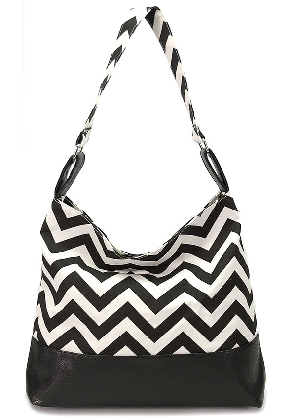 CHEVRON HOBO HANDBAGS - orangeshine.com