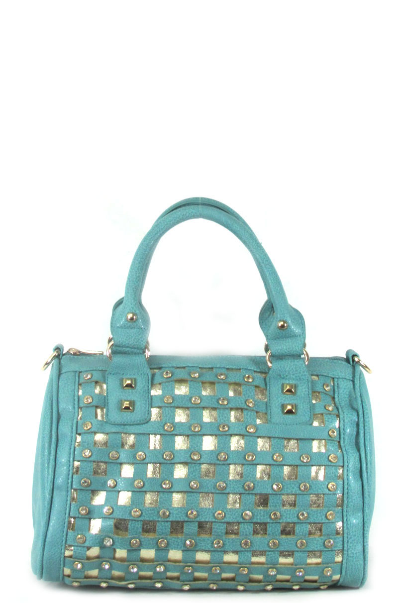 Boston rhinestone bag - orangeshine.com