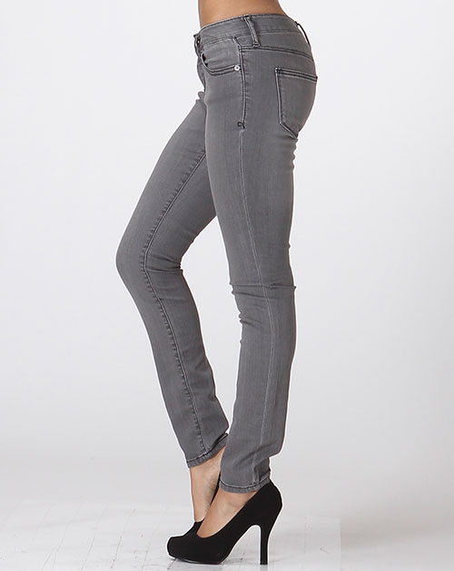 Ankle Skinny Denim - orangeshine.com