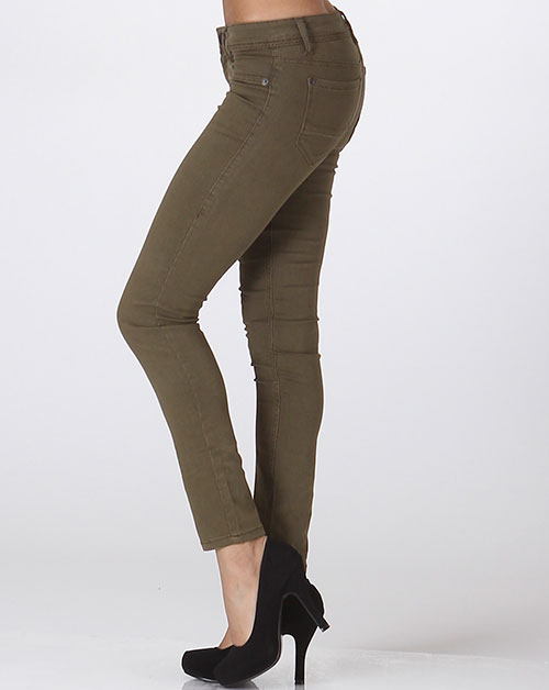 Ankle Skinny Pants - orangeshine.com
